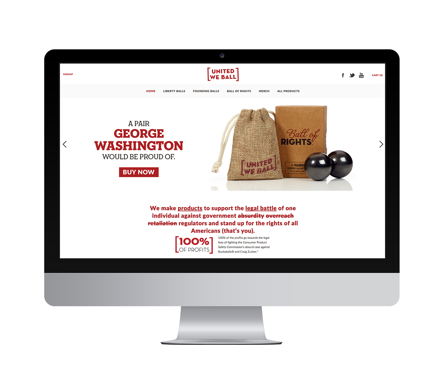 UWB Shopify E-commerce Site